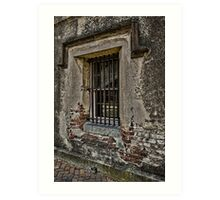 Grungy Facade, Gritty Past Art Print