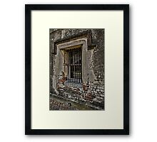 Grungy Facade, Gritty Past Framed Print
