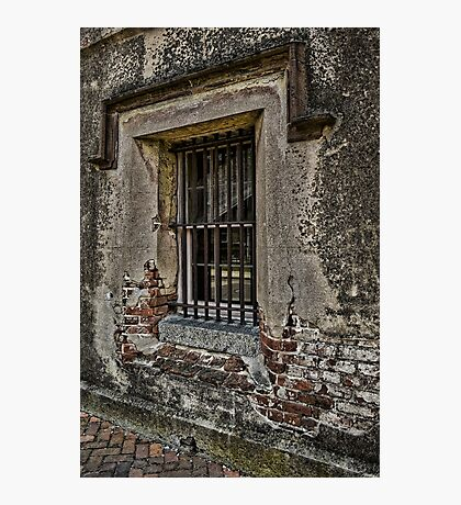 Grungy Facade, Gritty Past Photographic Print