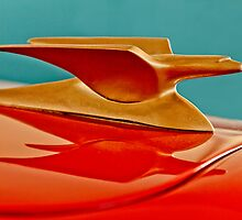 1951 Crosley Hot Shot Hood Ornament 2 by Jill Reger