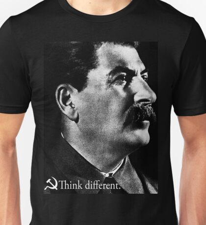 Piece a Week #17: Think Different (Stalin) Unisex T-Shirt