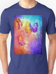 Butterfly Color Blast T-Shirt