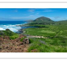 Oahu Panorama Sticker