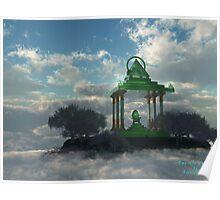 Emerald Mountain Throne Poster