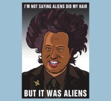 It was aliens.