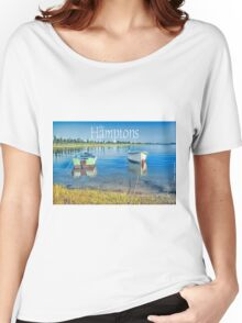 Moored Boats Women's Relaxed Fit T-Shirt