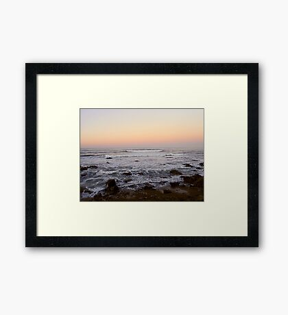 Cambria Sunset Framed Print