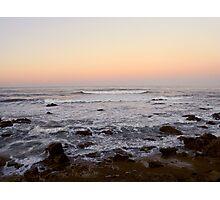 Cambria Sunset Photographic Print