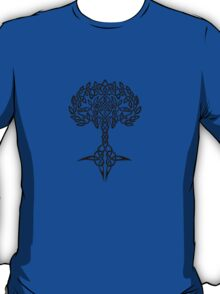 Celtic Tree - Black T-Shirt