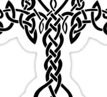 Celtic Tree - Black Sticker