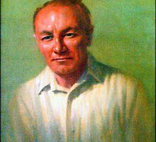 Sir Donald Bradman by myraj