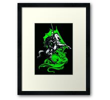 Fighting The Good Fight Framed Print
