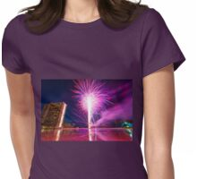 Fireworks Hawaii Womens Fitted T-Shirt