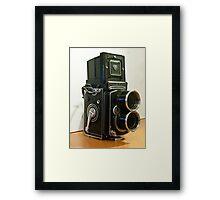 Tele Rolleiflex Framed Print