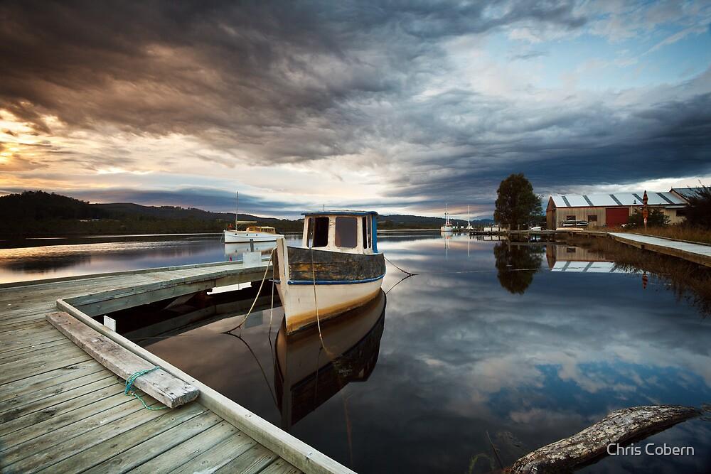 Wooden Boat School, Franklin Tasmania by Chris Cobern