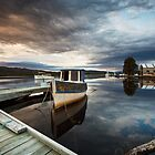 Wooden Boat School, Franklin Tasmania by Chris Cobern