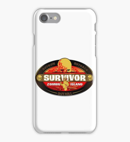 Survivor: Zombie Island iPhone Case/Skin