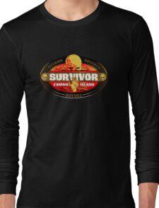 Survivor: Zombie Island Long Sleeve T-Shirt