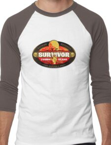 Survivor: Zombie Island Men's Baseball ¾ T-Shirt
