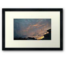 Evening 2 Framed Print