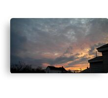 Evening 4 Canvas Print