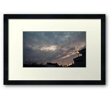 Evening 5 Framed Print