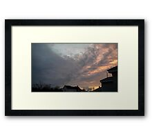 Evening 6 Framed Print