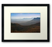 The Blue Mountains Framed Print