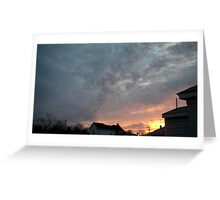 Evening 7 Greeting Card