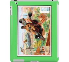 Flying Victorian Sci Fi Chocolate Delivery iPad Case/Skin