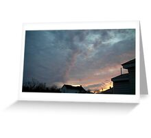 Evening 8 Greeting Card