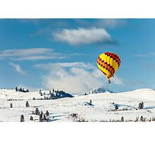 2012 Winthrop Balloon Roundup Photographic Print