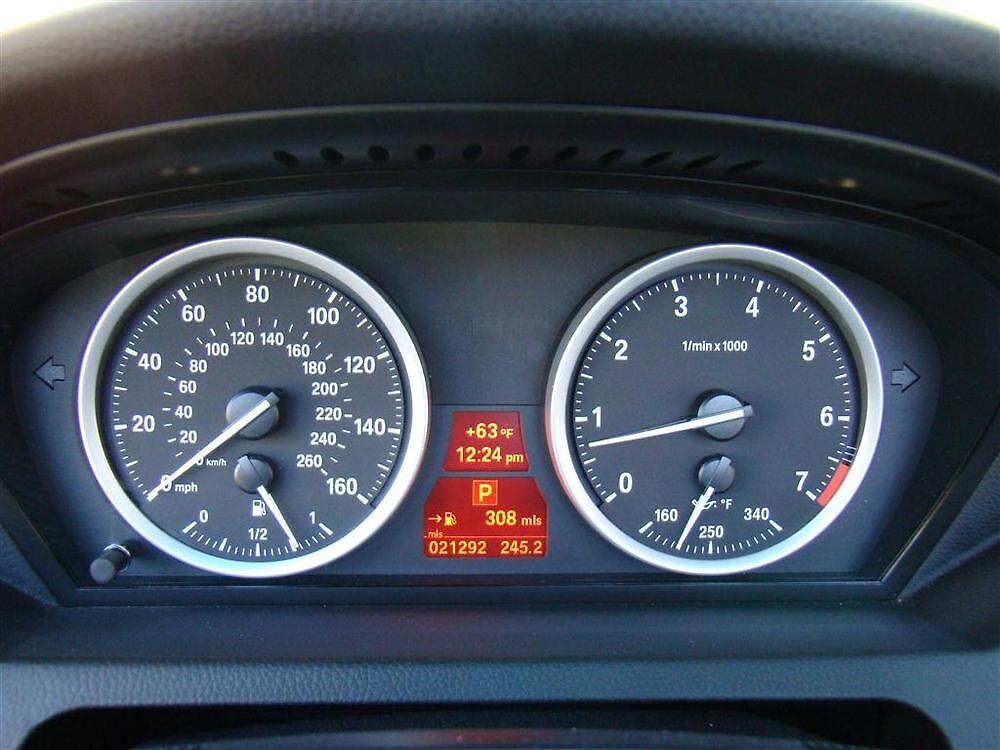 2010 BMW 650i Convertible Gauges by sl02ggp
