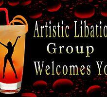 ❀◕‿◕❀ ARTISTIC LIBATION GROUP BANNER  ❀◕‿◕❀ by ✿✿ Bonita ✿✿ ђєℓℓσ