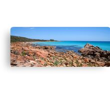 Eagle Bay Panorama with a little Dry Brush added Canvas Print
