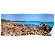 Eagle Bay Panorama with a little Dry Brush added Poster