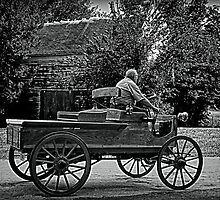 1903 Mercury Horseless Wagon by TeeMack