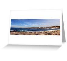 PANORAMA GORDONS BAY SYDNEY AUSTRALIA Greeting Card