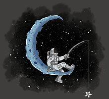 Moon Fishing by jnolen85