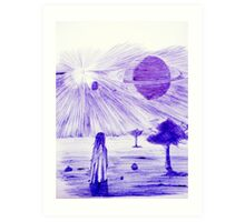 Backyard Astronomy Art Print
