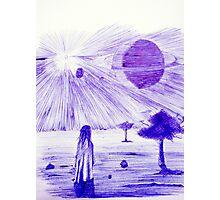 Backyard Astronomy Photographic Print