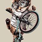 BMX CAT by MEDIACORPSE