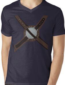 DragonBorn Studded Iron Cuirass Mens V-Neck T-Shirt