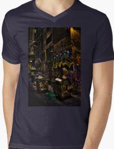 Degraves St 02 Mens V-Neck T-Shirt