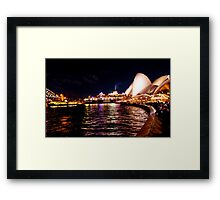 Goodbye Sydney ! Framed Print