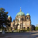 Berliner Dom and The Fernsehturm by Anne-Marie Reeves