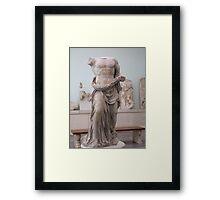 Pergamon statue Framed Print