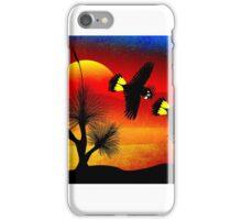 GrassTree Cockatoos 9 iPhone Case/Skin