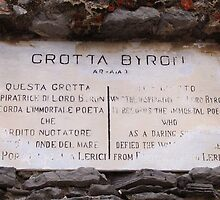 Byron's Grotto by Anne-Marie Reeves