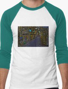 Degraves St 12 Men's Baseball ¾ T-Shirt